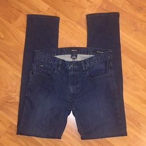 RVCA Hexed Slim Fit Jeans Size 30